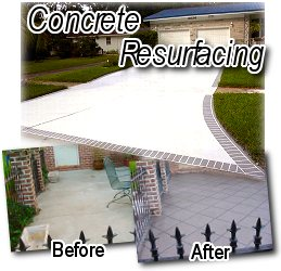 Beautiful Concrete Resurfacing