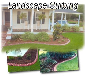 Beautiful Concrete Landscape Curbing
